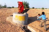 Despite poor rains, people in the desert region of Rajasthan have water, thanks to an old system