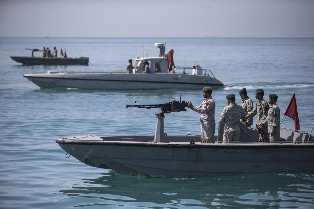 The Weekend Leader - Iranian Navy begins military drill in Caspian Sea