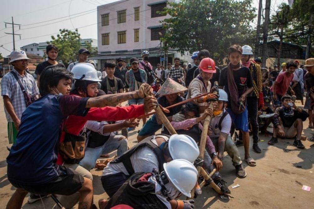 The Weekend Leader - Myanmar releases over 2,000 detainees
