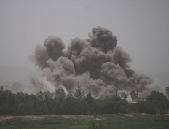 The Weekend Leader - Airstrikes kill 37 militants in Afghanistan