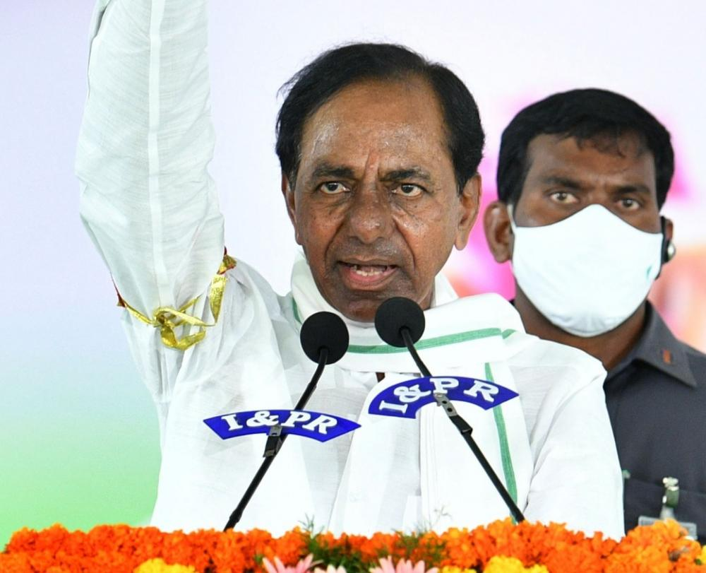The Weekend Leader - KCR's Dalit outreach raises political dust ahead of by-election