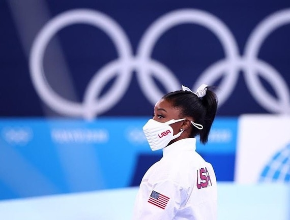 The Weekend Leader - Olympics: USA gymnast Simone Biles pulls out of Monday's floor exercise final