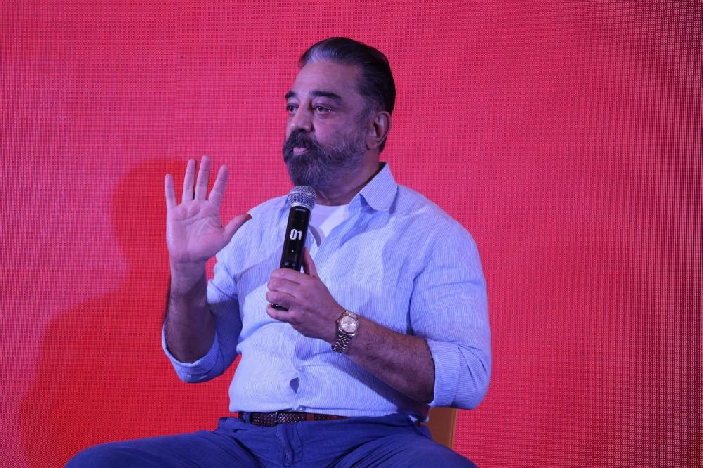 The Weekend Leader - Former IAS officer Santhosh Babu joins Kamal Haasan's MNM party