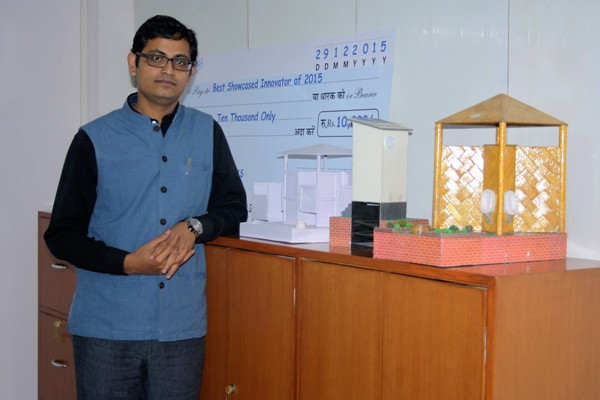 The Weekend Leader - Uttam Banerjee of Ekam Eco Solutions in Delhi develops Zerodor — Waterless Urinals