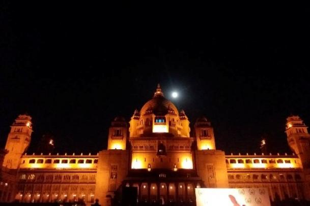 Intriguing palace