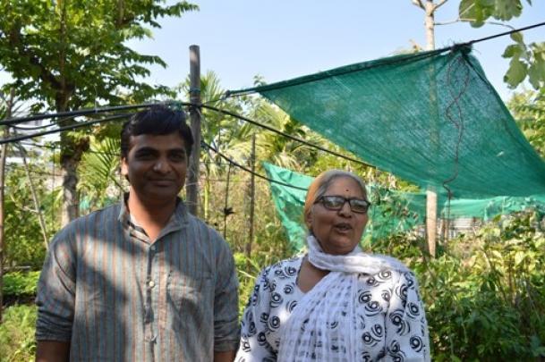 The Weekend Leader - Woman green warrior in Nashik dedicates life to draw people closer to nature | Nature | Mumbai