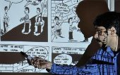A movement that uses comic strips to spread social awareness