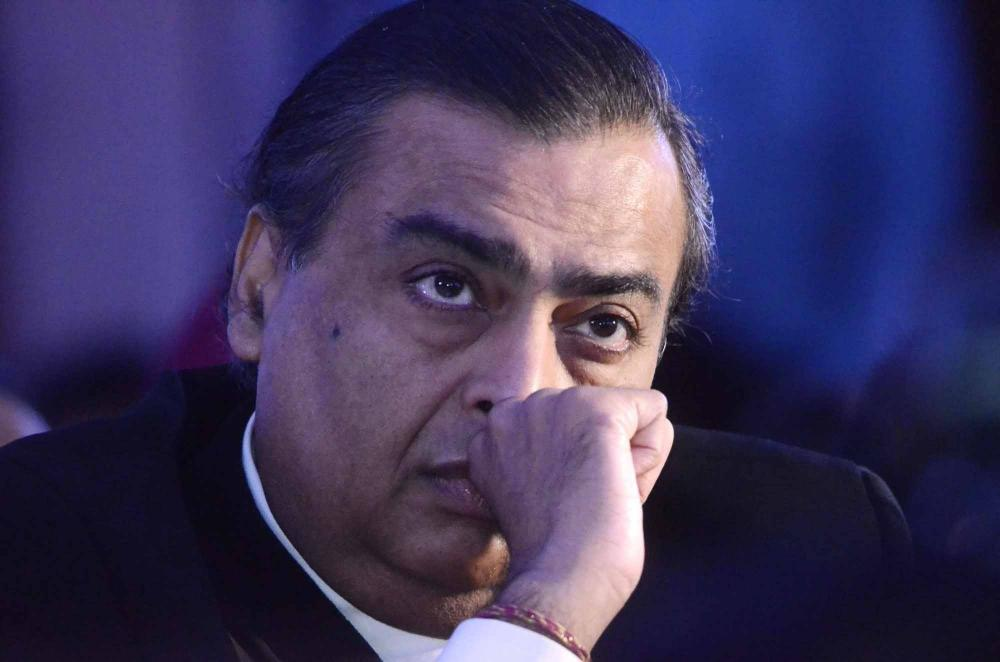 The Weekend Leader - SEBI imposes fine on Mukesh Ambani, RIL for 'manipulative trading'