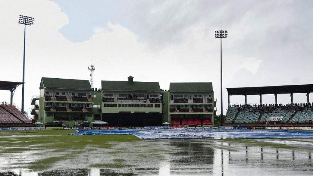 The Weekend Leader - Rain wipes out third West Indies-Pak T20I; visitors lead series 1-0