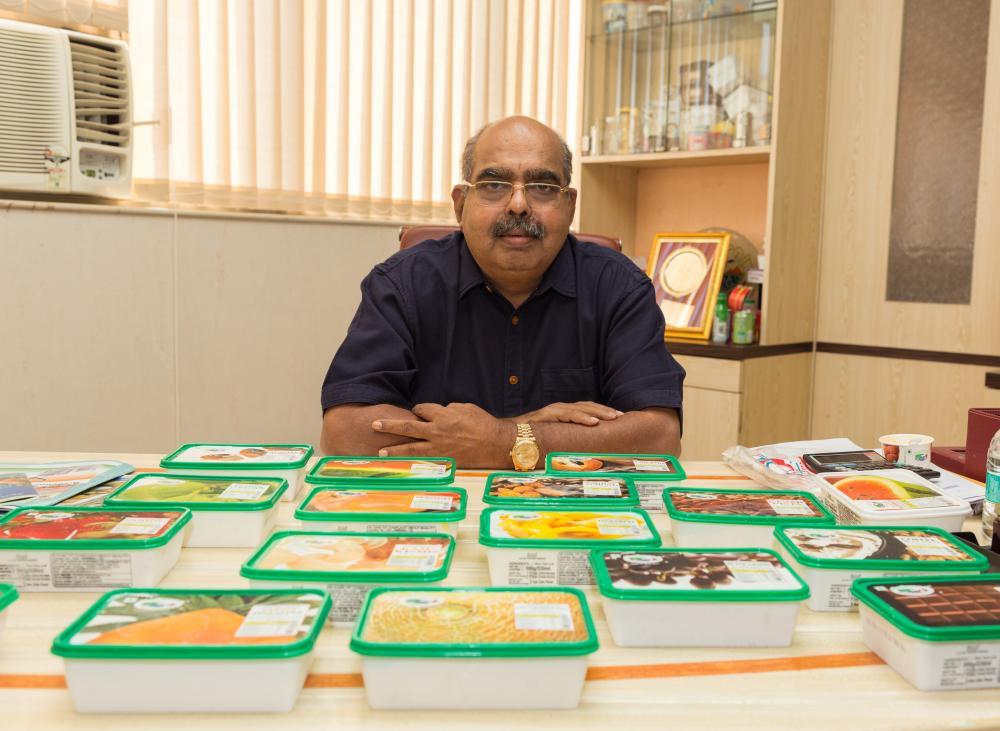 The Weekend Leader - Mulky Raghunandan Srinivas Kamath, Natural Ice Creams, founder