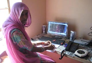 The Weekend Leader - Jaipur based Morarka Foundation helps women set up  home-based call centre for farmers