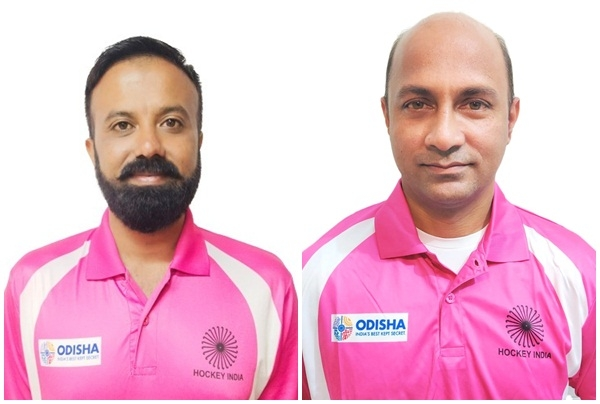 The Weekend Leader - 2 Indian hockey umpires training hard for Tokyo Olympics