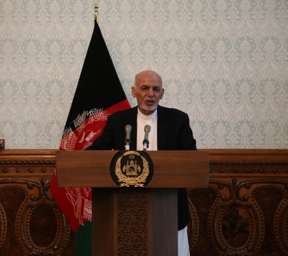 The Weekend Leader - Afghan Prez blames US withdrawal for violence: Report