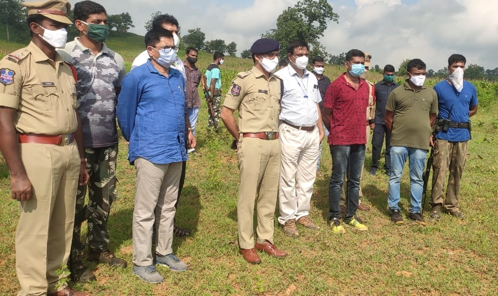 Suspected Maoist killed in exchange of fire with T'gana police