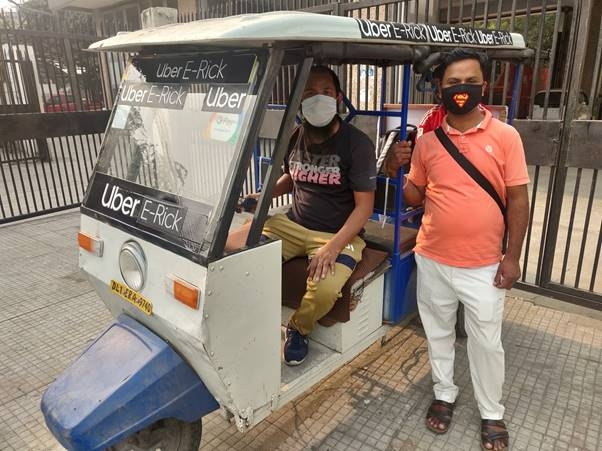 ?Uber deploys 100 e-rickshaws in Delhi for last mile connectivity