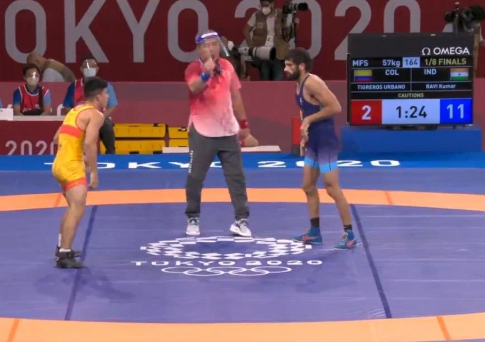 The Weekend Leader - Olympics: Wrestlers Ravi Dahiya, Deepak Punia secure semifinal berths