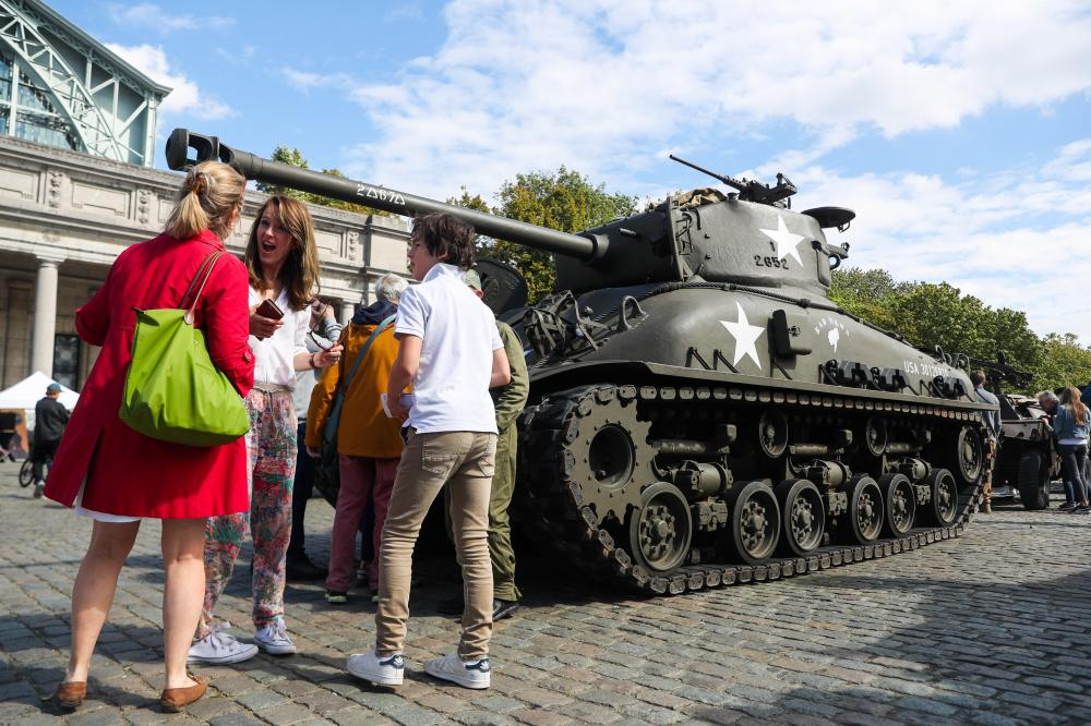The Weekend Leader - Hefty fine on German for WWII tank at home