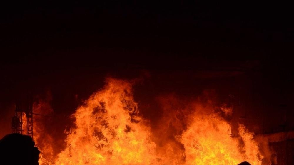 The Weekend Leader - Fire breaks out in Delhi's Kirti Nagar, no causality