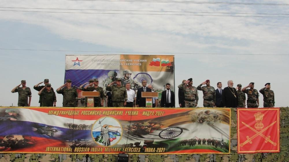 The Weekend Leader - India, Russia joint military drill kicks off in Volgograd
