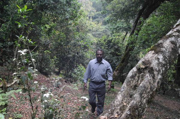 He is a one-man army fighting for environmental conservation in Kodaikanal