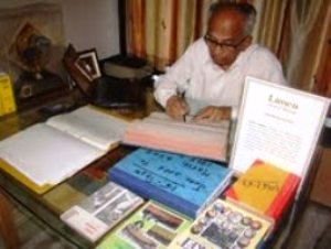 Sudhir Vaidya has devoted a lifetime for cricket, as the game's record keeper