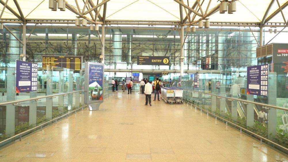 The Weekend Leader - Hyderabad Airport handles 4 lakh domestic passengers in June