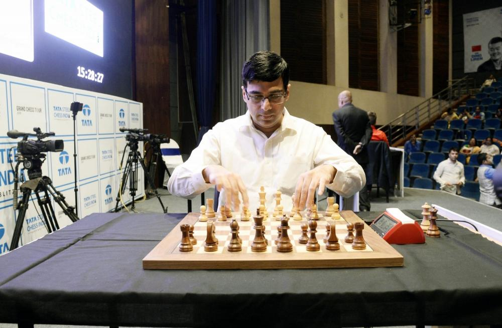 The Weekend Leader - Anand to play first on-board game in Croatia Grand Chess Tour