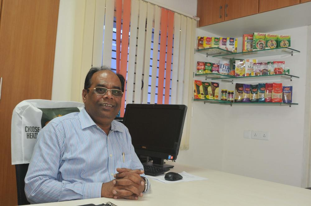 The Weekend Leader - ISAK Nazar, Manna, Founder, Southern Health Foods, Makers of Manna health food products