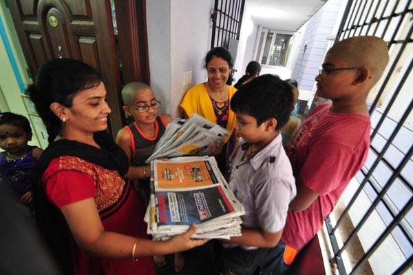 The Weekend Leader - Sridevi Ramesh of FACES helps orphanages