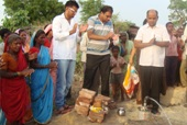 Teacher turns real life hero for water starved tribals