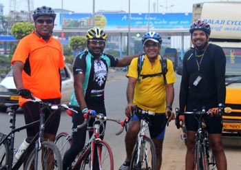 Meet the Chennai cyclists who are more into history that just pedaling for fund