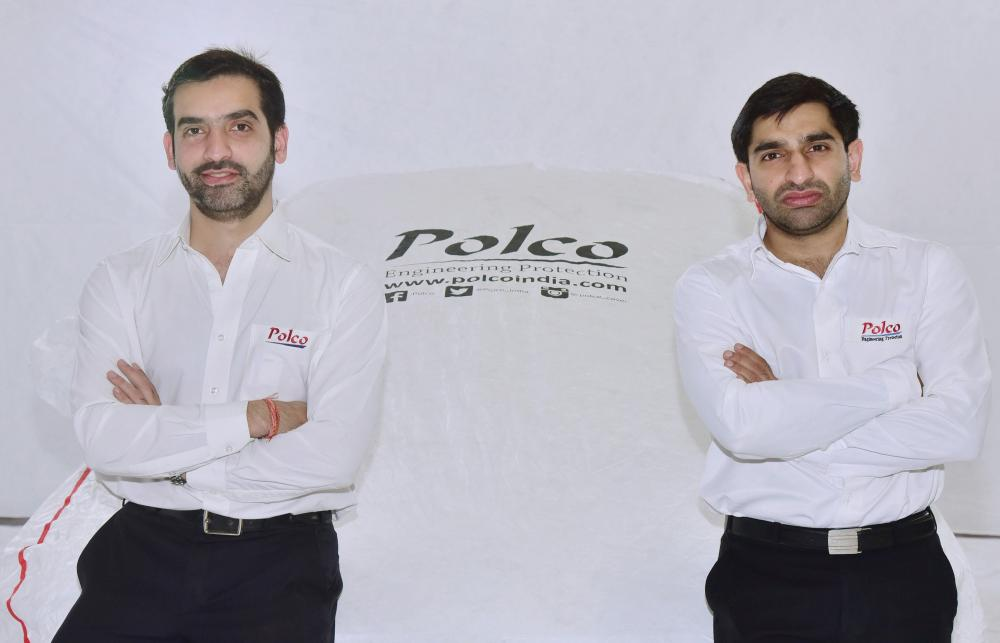 The Weekend Leader - Story of Polco car cover founders Bhavesh Khanna and Rohit Khanna