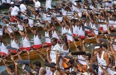 All charged up for Kerala's snake boat race