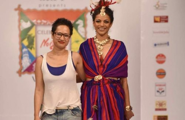The Weekend Leader - Designer Yana Ngoba Chakpu on a mission to promote northeast weavers  | Culture | New Delhi