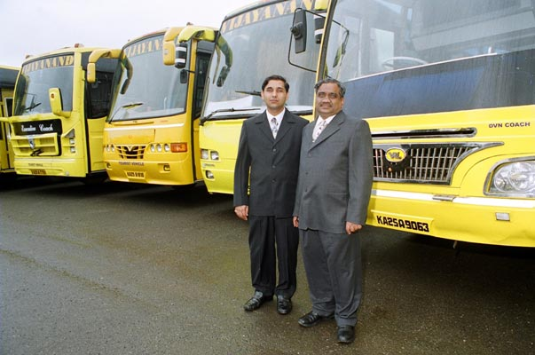 He started transport business with a single lorry, but today owns 4,300 vehicles