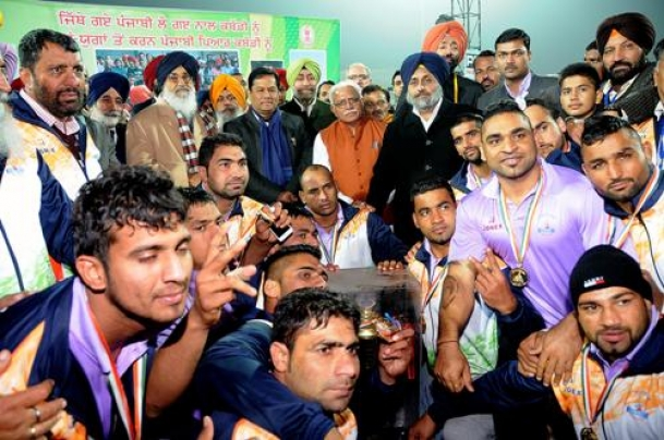 From the village ground to the elite drawing rooms, kabaddi has come a long way