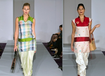 The Weekend Leader - Northeastern Fashion Designers   Northeastern Ethnic ensembles