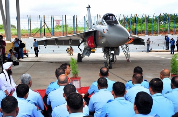 'Flying Tejas felt like being on top of the world'