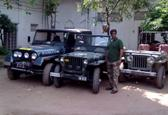 In Bhopal families still drive vintage jeeps that give 7km/litre mileage