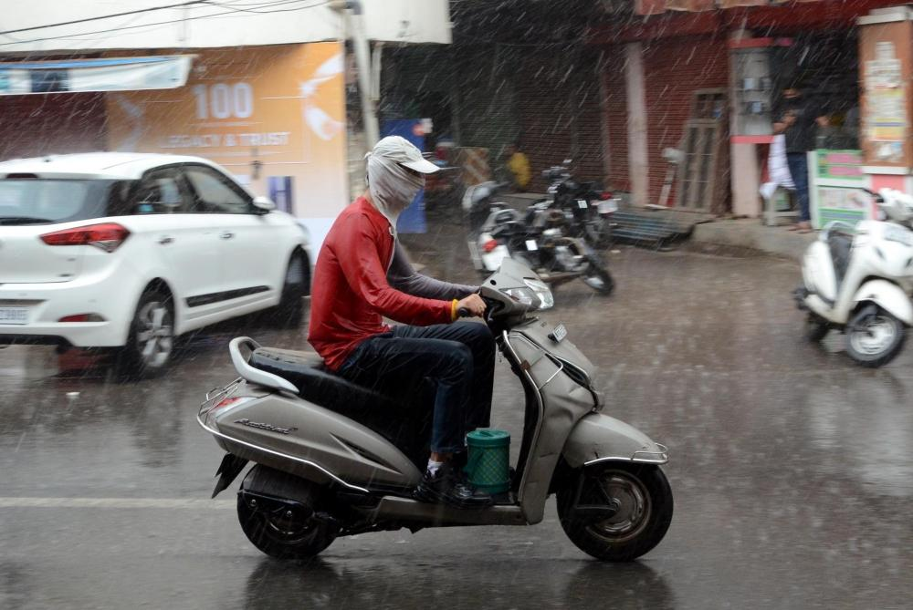 The Weekend Leader - Heavy rains lash Lucknow, parts of UP