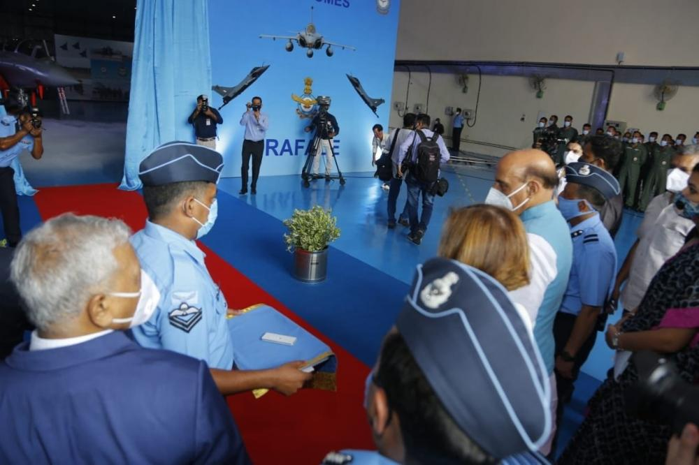 The Weekend Leader - Rafale will be instrumental for our border security: Rajnath