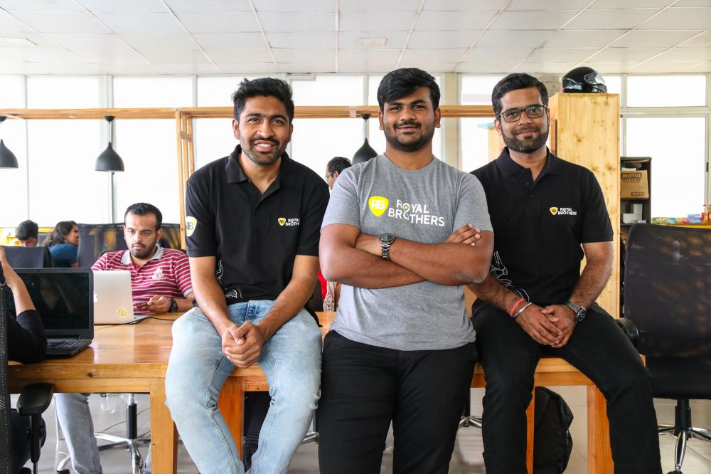 The Weekend Leader - Story of Royal Brothers, bike rental company, founders, Abhishek Chandrashekar, Akash Suresh and Kuldeep Purohit