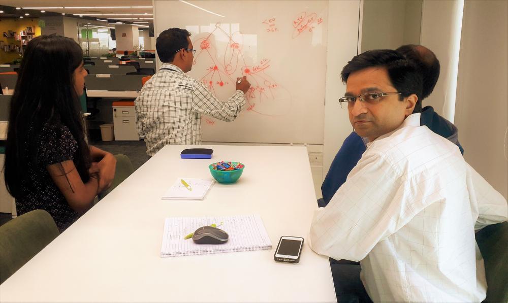 The Weekend Leader -  Milind Borate, co founder, Druva, Pune