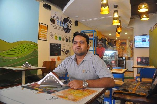 Tea stall entreprenuer