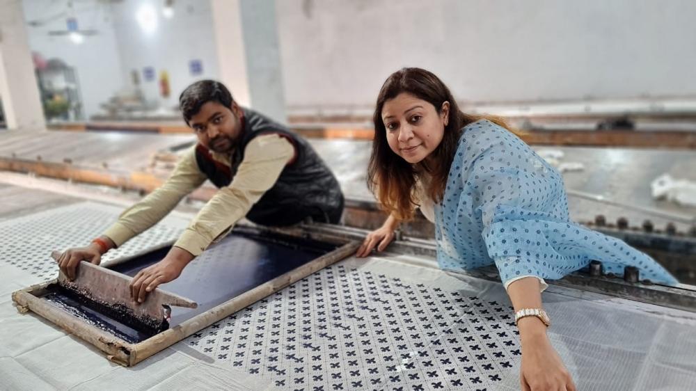 The Weekend Leader - Anjali Agrawal, Owner and Founder, Kota Doria Silk, KDS