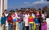 A Tibetan monk rehabilitates Indian slum children