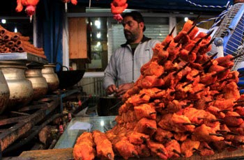 Father of Srinagar's street food has also a history to dish out, along with his lipsmacking delicacy