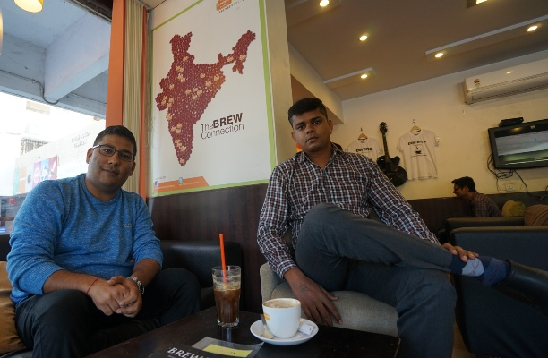 A small-town coffee shop is India's fastest growing coffee chain