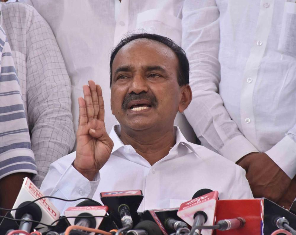 The Weekend Leader - Etela Rajender resigns, attacks Telangana Chief Minister
