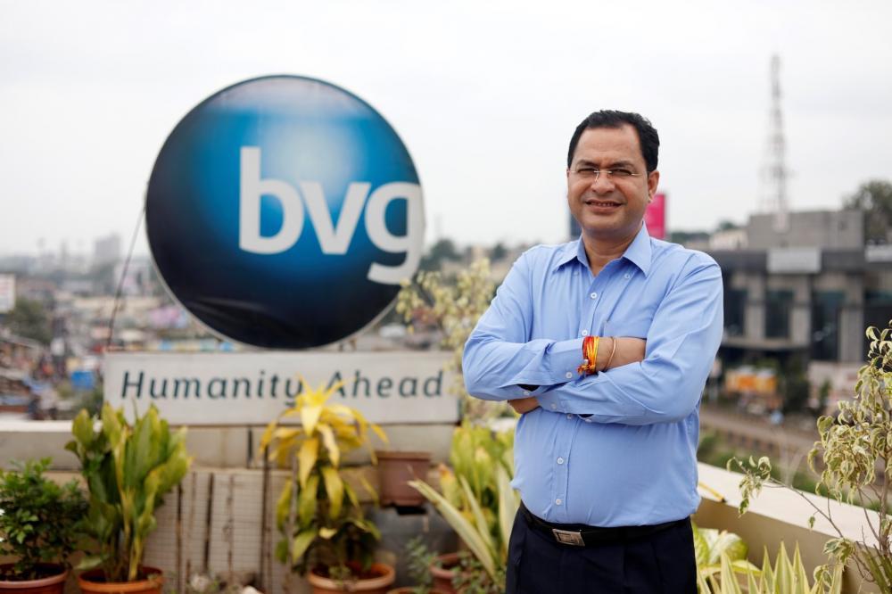 The Weekend Leader - Success story of Hanmant Gaikwad, Owner, Founder of Bharat Vikas Group (BVG India Ltd), Pune